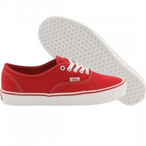 Vans Men Authentic Lite + Canvas (red)