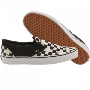 Vans Men Classic Slip-On - 50th Anniversary (black / gold checker)