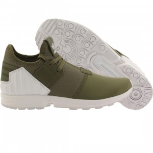 Adidas Men ZX Flux Plus (olive / olive cargo / footwear white)