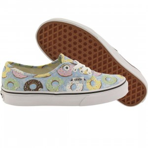 Vans Women Authentic - Late Night Donuts (blue / skyway / donuts)