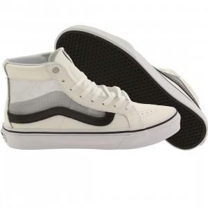 Vans Women SK8-Hi Slim Cutout - Mesh (white / black)