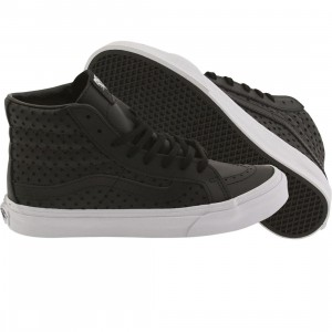 Vans Women Sk8-Hi Slim - Perf Stars (black / white)