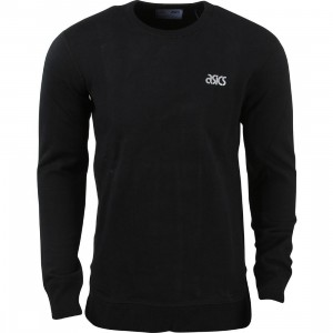 Asics Tiger x Reigning Champ Men Crewneck (black)