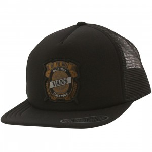 Vans Barley Trucker Hat (black)