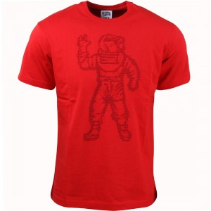 Billionaire Boys Club Men BB Astro Knit Tee (red / chinese)