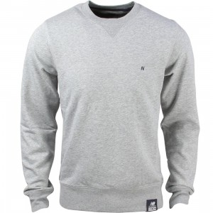 New Balance Men Crew Neck Sweatshirt (gray / athletic grey)