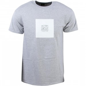10 Deep Men Boxer Sport Tee (gray / heather)