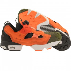 Reebok Men Instapump Fury ASYM (canopy green / peach / atomic red / coal)