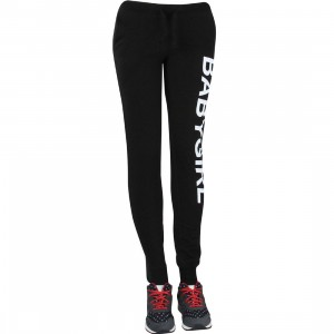 Dimepiece Women Babygirl Sweatpants (black)