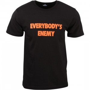 Undefeated Men Everybody's Enemy Tee (black)