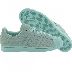 Adidas Men Superstar Perf Pack (teal / clear aqua)