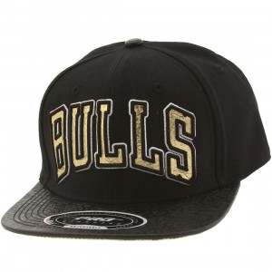 Pro Standard NBA Chicago Bulls Jersey Adjustable Cap (black)