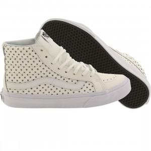 Vans Women Sk8-Hi Slim - Perf Stars (white / true white)