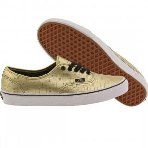 Vans Men Authentic - 50th Anniversary Gold (gold / checker)