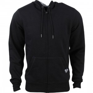 New Balance Men Full Zip Fleece Hoodie (black)