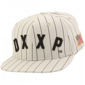 10 Deep Dxxp Snapback Cap (white)