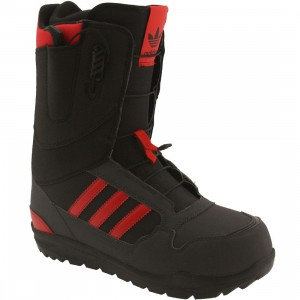 Adidas Men ZX500 Snowboard boots (dgsogr / colored red / black)