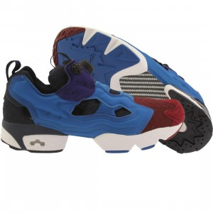 Reebok Men Instapump Fury ASYM (blue / college burgundy / blue spirit / night beacon)