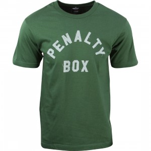 Undefeated Men Penalty Box Tee (green)