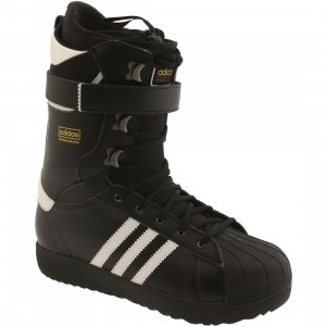 Adidas Men Superstar Boots (black / white / gold)