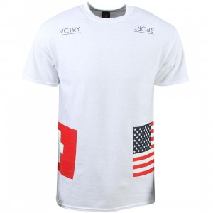 10 Deep Men Sideline Tee (white)