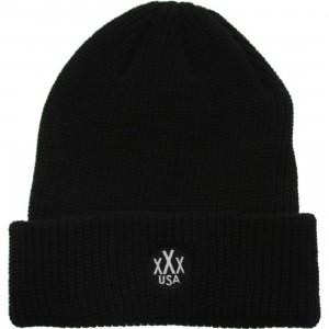 10 Deep Dot Logo Knit Beanie (black)