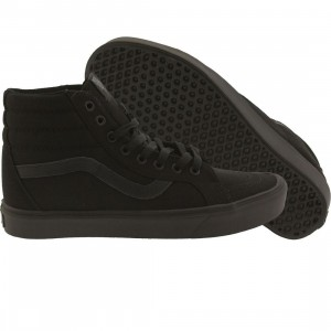 Vans Men Sk8-Hi Lite + Canvas (black / black)