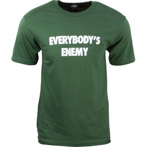 Undefeated Men Everybody's Enemy Tee (green)