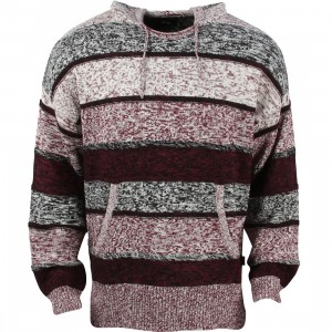 Stussy Men Drug Rug Hoody (burgundy)