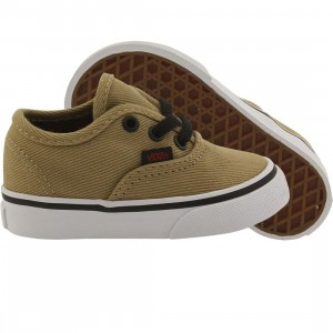 Vans Toddlers Authentic  Twill (black / cornstalk)