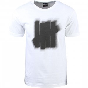 Undefeated Men Blur Tee (white)