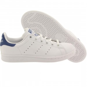 Adidas Big Kids Stan Smith (white / eqt blue)