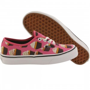 Vans Women Authentic - Late Night Cupcakes (pink / cupcakes)