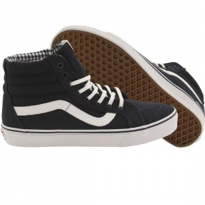 Vans Men Sk8-Hi Reissue - Twill (blue / dress / white)