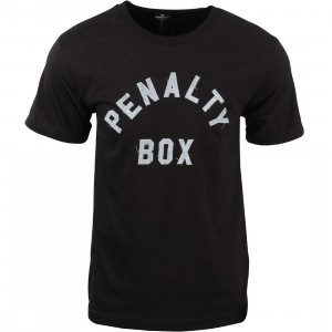 Undefeated Men Penalty Box Tee (black)
