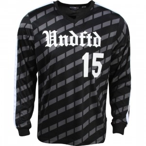 Undefeated Men Soccer Jersey (black)