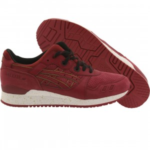Asics Tiger Men Gel Lyte III (burgundy / burgundy)