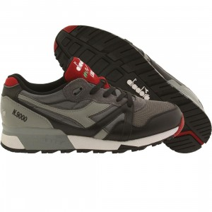Diadora Men N9000 L-S (gray / black)
