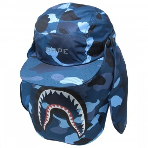 A Bathing Ape Gradation Camo Mask Cap (blue)