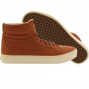 Vans Men Sk8-Hi Cup - California Leather (brown / henna turtledove)