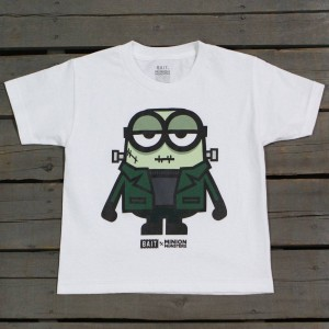 BAIT x Minion Monsters Women FrankenBob Tee (white)
