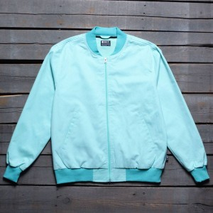 BAIT Men Canvas Jacket - Made In LA (green / mint)