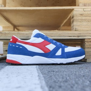 Diadora Men Running 90 (white / blue)