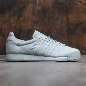 Adidas Men Samoa Vintage Tactile Green - Pigskin Suede Pack (green)