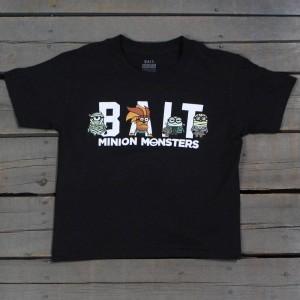 BAIT x Minion Monsters Women Group Tee (black)