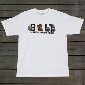 BAIT x Minion Monsters Men Group Tee (white)