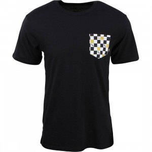 Vans Men 50th Anniversary Pocket Checker Tee (black)