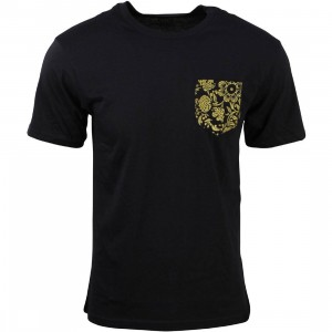 Vans Men 50th Anniversary Pocket Print Tee (black)