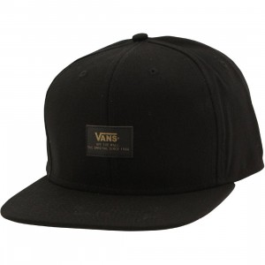 Vans 50th Anniversary 6 Panel Snapback Cap (black)