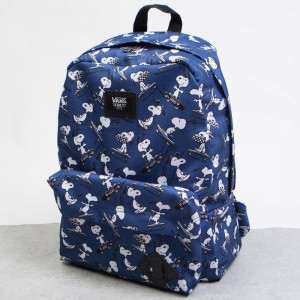Vans x Peanuts Old Skool II Backpack (navy)